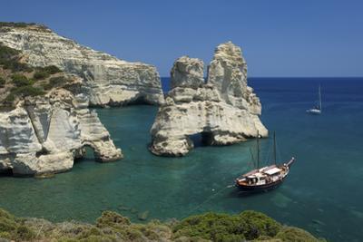Kleftiko, Milos, Cyclades, Greece by Katja Kreder