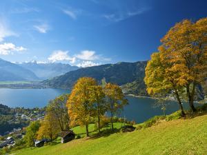 Lake Zeller See , Thumersbach, Pinzgau in Salzburger Land, Austria by Katja Kreder