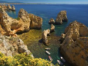 Ponta Da Piedade, Algarve, Portugal by Katja Kreder