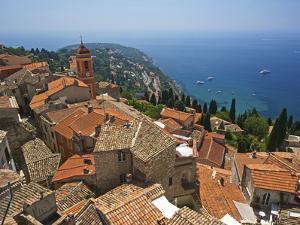 Roquebrune, Cote D´Azur, Alpes-Maritimes, Provence-Alpes-Cote D'Azur, Frankreich by Katja Kreder