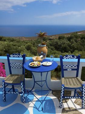 Tavern Near Chora Sfakion, Crete, Greece by Katja Kreder