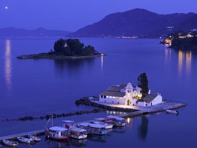 Vlacherna Monastery, Corfu, Ionian Islands, Greece