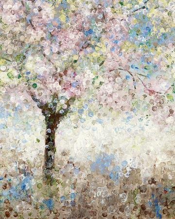 cherry blossoms ikatrina craven - Japanese Garden Cherry Blossom Paintings