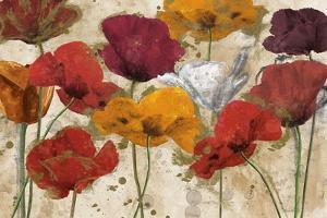 Happy Flowers by Katrina Craven