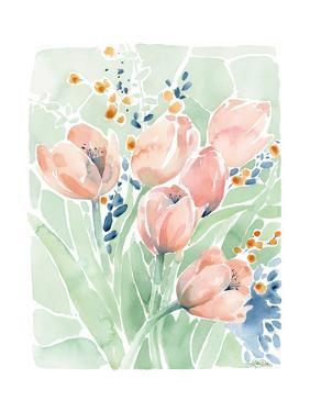 Tulip Spray by Katrina Pete