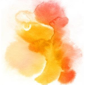 Abstract Watercolor Hand Painted Background by katritch