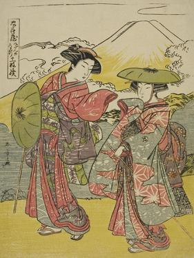 Act Eight: Bridal Journey from the Play Chushingura (Treasury of Loyal Retainers), C.1779-80 by Katsukawa Shunsho