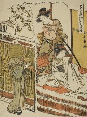 Act Nine: Yuranosuke's House in Yamashina from the Play Chushingura, C.1779-80 by Katsukawa Shunsho