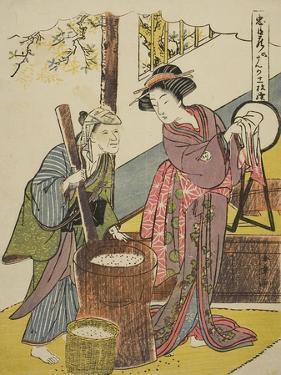 Act Six: Yoichibei's House from the Play Chushingura (Treasury of Loyal Retainers), C.1779-80 by Katsukawa Shunsho