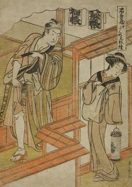 Act Ten: the Amakawaya from the Play Chushingura (Treasury of Loyal Retainers), C.1779-80 by Katsukawa Shunsho
