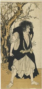 Ichikawa Danjuro V as the Monk Wantetsu, 1778 by Katsukawa Shunsho