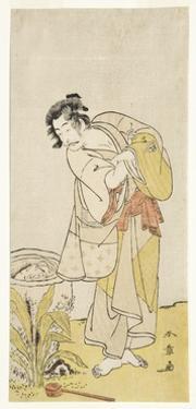 Ichikawa Danjuro V from the Play Shida Yuzuri Wa Horai Soga, 1775 by Katsukawa Shunsho