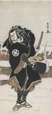 O Tani Hiroeman III as Asahara Jiro, 1778 by Katsukawa Shunsho