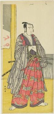 Sawamura Sojuro III as Yazama Jutaro, C. 1789 by Katsukawa Shunsho