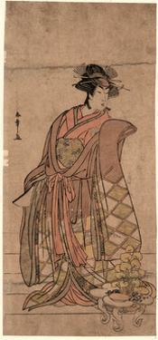 Segawa Kikunojo by Katsukawa Shunsho