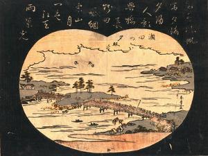 Seta No Sekisho by Katsukawa Shunsho
