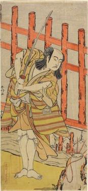 The Actor Ichikawa Yaozo in Character, Late 18th Century by Katsukawa Shunsho