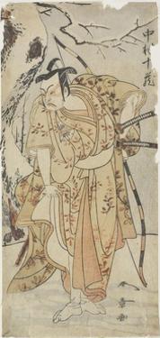 The Actor Nakamura Juzo in a Samurai Role by Katsukawa Shunsho