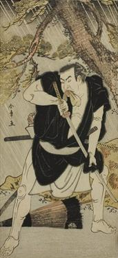The Actor Nakamura Nakazo I as Ono Sadakuro in the Play Kanadehon Chushingura, C.1783 by Katsukawa Shunsho