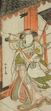 The Actor Nakamura Tomijuro I as Hangaku Gozen, Performed at the Nakamura Theater, C.1777 by Katsukawa Shunsho