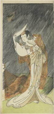 Yamashita Kinsaku II as the Lady Asaka, 1772 by Katsukawa Shunsho