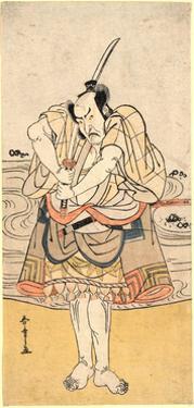 Yodaime Ichikawa Danzo by Katsukawa Shunsho