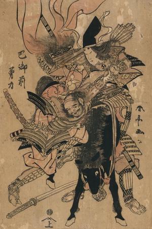 The Powerful Tomoe Gozen, C.1810