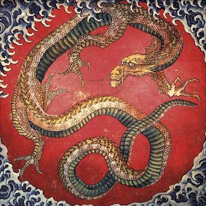 Dragon by Katsushika Hokusai