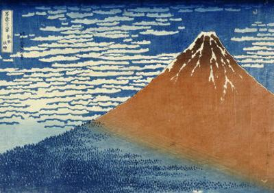 Fine Wind, Clear Weather by Katsushika Hokusai