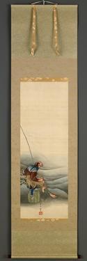Fisherman, Edo Period, 1849 by Katsushika Hokusai