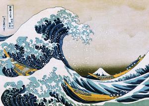Hokusai The Great Wave by Katsushika Hokusai