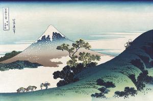 Inumi Pass in the Kai Province by Katsushika Hokusai