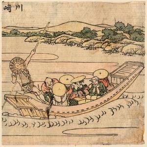 Kawasaki by Katsushika Hokusai