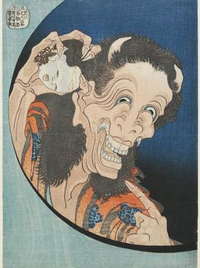 Laughing Demoness, 1831-1832 by Katsushika Hokusai