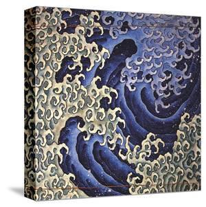 Masculine Wave (detail) by Katsushika Hokusai