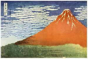 Mont Fuji, Japan, C1823 by Katsushika Hokusai
