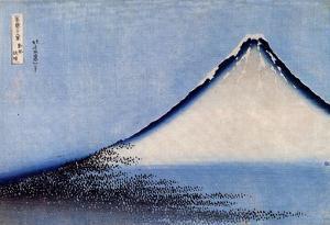 Katsushika Hokusai Mount Fuji 2 Art Poster Print