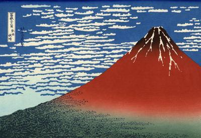 Katsushika Hokusai (Mount Fuji) Art Poster Print