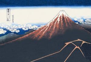 Mount Fuji in Summer by Katsushika Hokusai