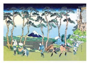 Mount Fuji Pilgrimage by Katsushika Hokusai
