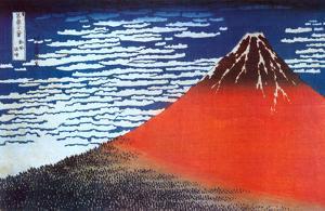 Mount Fuji by Katsushika Hokusai