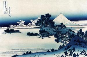 Schichiri Beach in Sagami Province by Katsushika Hokusai