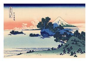 Shichiri Beach in Sagami by Katsushika Hokusai