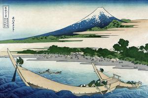 Shore of Tago Bay, Ejiri at Tokaido by Katsushika Hokusai