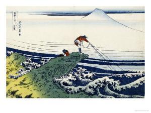 Soshu Kajikazawa in Kai Province from the Series the Thirty-Six Views of Mount Fuji by Katsushika Hokusai
