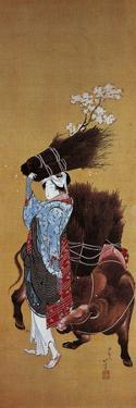 The Girl from Ohara by Katsushika Hokusai