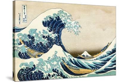 The Great Wave at Kanagawa (from 36 views of Mount Fuji), c.1829 by Katsushika Hokusai
