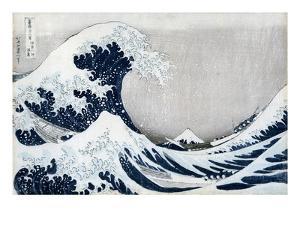 The Great Wave Off Kanagawa, from the Series '36 Views of Mt. Fuji' ('Fugaku Sanjuokkei') by Katsushika Hokusai