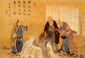 Katsushika Hokusai The Thousand Years Turtle Art Poster Print