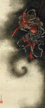 Thunder God, Edo Period, 1847 by Katsushika Hokusai
